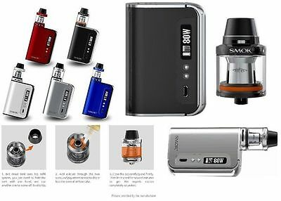Smok OSUB Plus Kit 80w Genuine With Code Ecig Vape TPD Regulated Quit Smoking