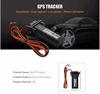 Mini Vehicle GSM GPRS GPS Tracker for Car Motorcycle Waterproof Online Tracking