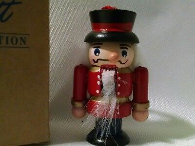 1995 Avon Nutcracker Christmas Tree  Ornament