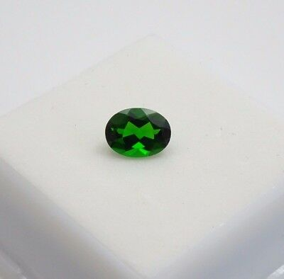 Russian Chrome Diopside 1.20ct - 8x6mm - Oval - Loose Gemstone