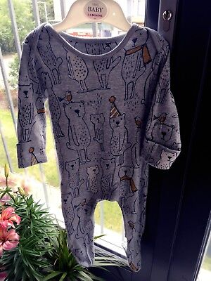 Baby Boys / Girls babygrow sleepsuit 3-6 months from M&S worn once