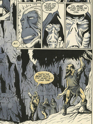 Original Comic Art Page Planet of The Apes Page 28