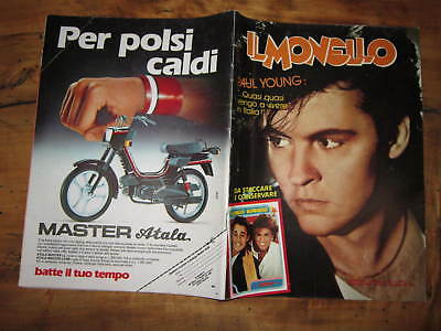 Il Monello 20/1985 Paul Young Garella Bonnie Bianco F.mercury Tears For Fears