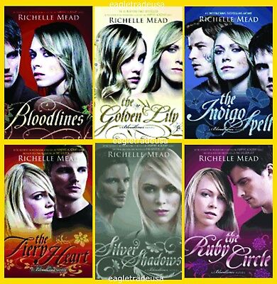 Bloodlines series 1 6 books by richelle mead complete set bloodlines series 1 6 books by richelle mead complete set fandeluxe Image collections