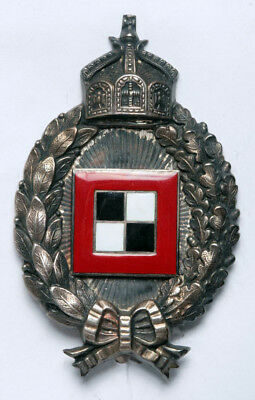 Rare WWI Prussia Observer Badge in Silver. Beautiful Design & Excellent Quality