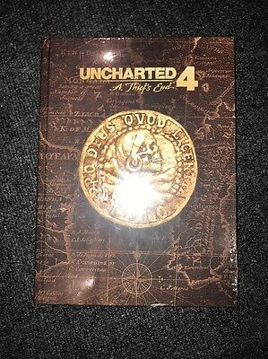 Uncharted 4 A Thief's End Collector's Edition Strategy Guide Sealed