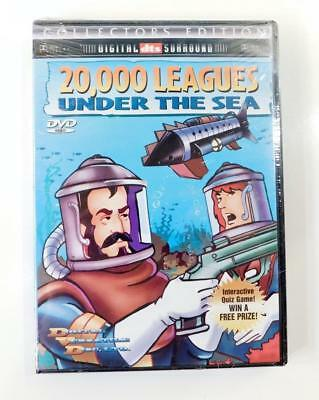 20,000 Leagues Under the Sea (DVD, 2000 Collectors Edition) New & Factory Sealed