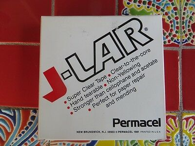 Permacel JLAR Clear to the Core Tape (Permacel J-LAR): 1 in. x 72 yds.