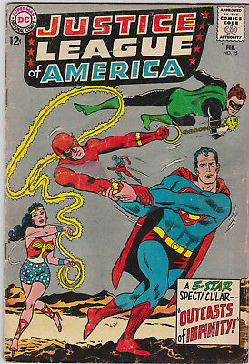 Justice League of America    # 25     1968        VG-