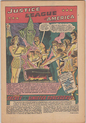 Justice League of America    # 2     1961        Coverless