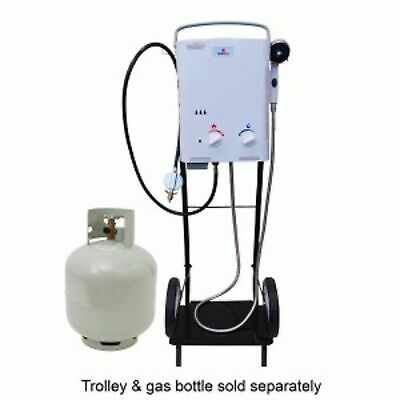 PORTAHOT LPG Hot Tap Portable Continuos Water Heater for Shed, Horse Cattle Wash