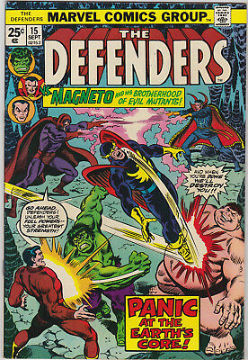 The Defenders     # 15    1974       VF