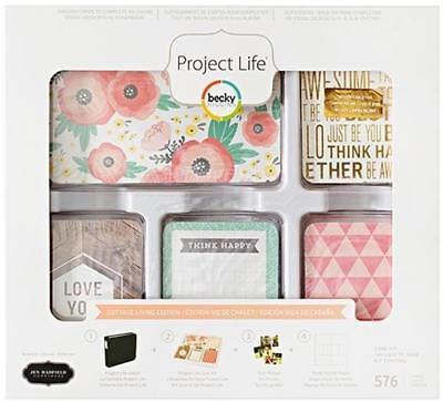 PROJECT LIFE ~ Core Kit ~ COTTAGE LIVING ~ 676 Cards 380550 Scrapbooking Craft