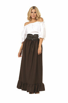 Adult Renaissance Peasant Woman Lady Pirate Wench Bar Maid Medieval Costume