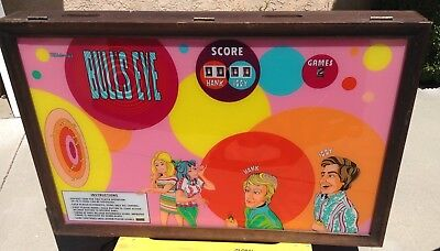 POSSIBLE DELIVERY MIDWAY BULLSEYE DART GAME ELECTRONIC HANK IGGY 1970's
