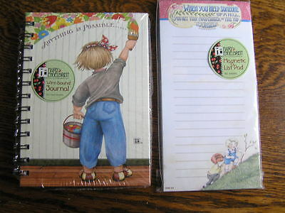 MARY ENGELBREIT 80~Ruled Sheets Wire-Bound JOURNAL & 80~Sheets Magnetic List Pad
