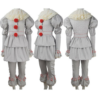 Kids boys It 2017 film Pennywise the Dancing Clown cosplay halloween costume toy