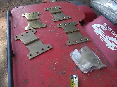 Large Brass Hinges