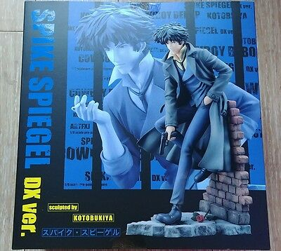 Official Kotobukiya Exclusive Cowboy Bebop ARTFX J Spike Spiegel DX Version New