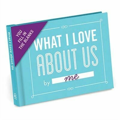 What I Love About Us Fill in the Blanks Journal by Knock Knock