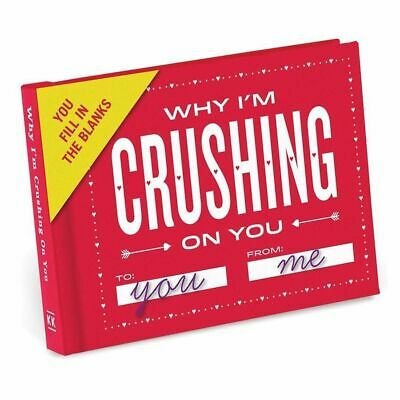 Why I'm Crushing on You Fill in the Blanks Journal by Knock Knock