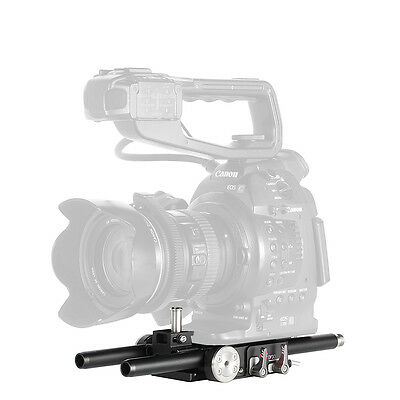 JTZ DP30 Cage 15mm Baseplate Rig For Canon Cinema EOS Camera C100 C300 C500 II 2