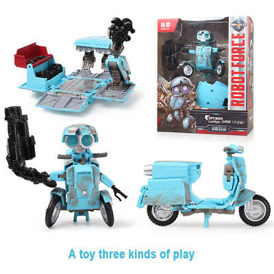 Large Transformers 5 The Last Knight Autobot Sqweeks Action Figures Ko Version