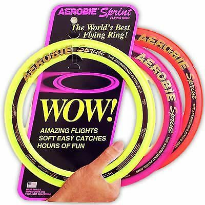 """Aerobie 13"""" Pro Ring/Frisbee/Flying Disc/Brand New/Assorted colours - FAST SHIP"""