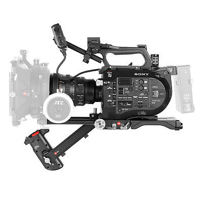 JTZ DP30 Baseplate Rig 15mm Rod Support System Front Hand Grip For SONY PXW-FS7