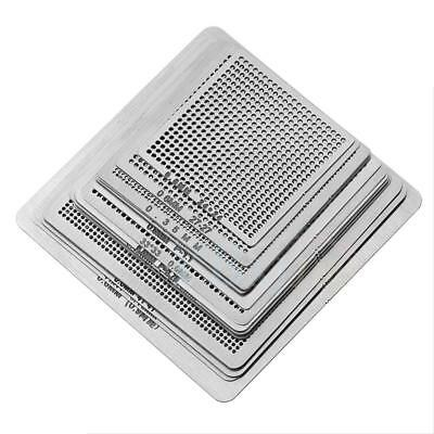 16Pc Universal BGA soldering Net Stencils Templates For Soldering Accessories SR