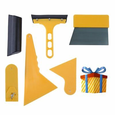 New 7PC Vehicle Glass Window Film Tools Kit Film Tinting Scraper Squeegee Set UK