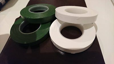 3X Green Or White Para Film Florist Tape Water Proof