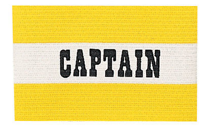 Champion Sports Youth Soccer Captains ARM Band Available IN Red Blue Yellow New