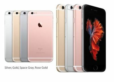 APPLE IPHONE 6S/4S 16GB 64GB 128GB GSM UNLOCKED Grey Silver Gold Rose Gold LOT