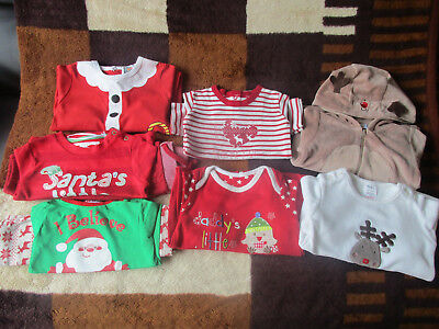 Large Baby Boy Christmas Bundle Size 3-6 months