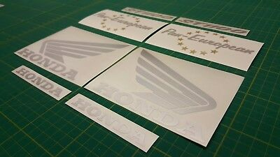 Pan European ST1100 decals stickers graphics Honda touring restoration