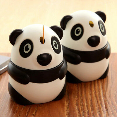 Toothpicks Holder Panda Shaped Automatic Pop Up Toothpick Box new Dispenser