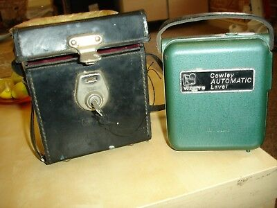 Cowley automatic level with leather case/key