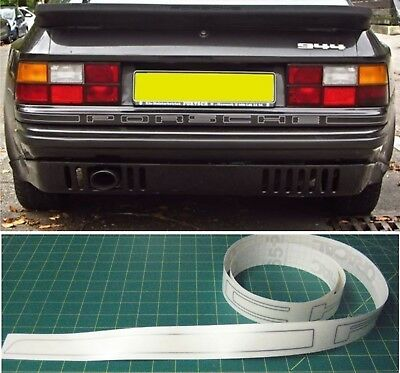 Porsche tailgate 944 924 decals stickers graphics restoration replacement Turbo