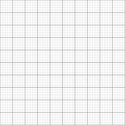 10 x 140gsm GRID / GRAPH PAPER A2 size Metric 1mm 5mm 50mm squares premium paper