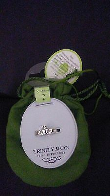 Trinity & Company Irish Jewellery The Claddagh Ring Size 7