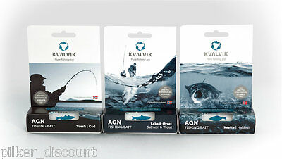kvalvik Bait Revolutionary Attractant for the Fishing on Cod, Halibut, Salmon