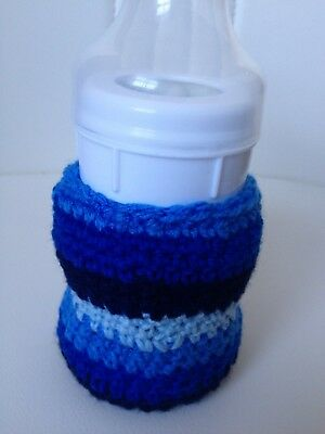 hand crochet baby bottle cover tommee tippee, avent Dr brown MAM any size