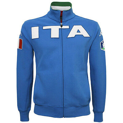 Kappa Heroes Ita Fisi - Brushed Fleece National Team Skiing - From S To Xxl