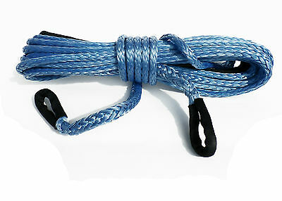 65 ft 20Metre 10mm Synthetic Winch Rope extension Dyneema SK75 self recovery 4x4