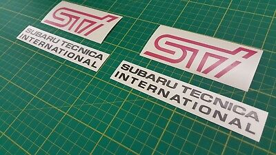 Subaru Impreza GD GG STI Bug Eye Fog Cover decals stickers WRX 2000  -2007