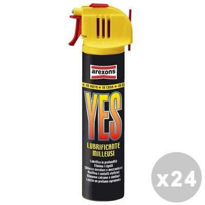 Set 24 Lubrificante Spray Yes Ml 75 Arexons