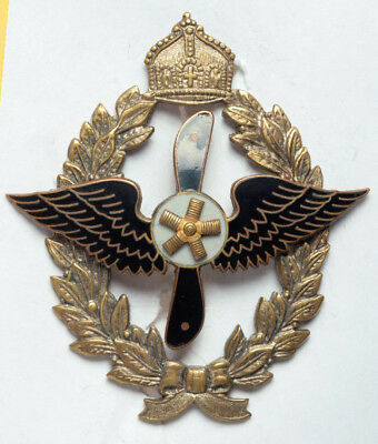 German Honorary Badge of the Imperial Aero- and Model Club. Rare and Nice Badge.