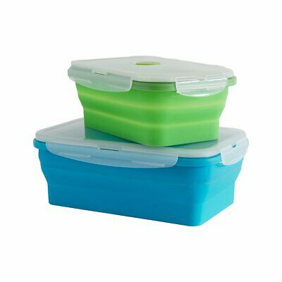 Collapsible Containers Set of 2 Camping Hiking