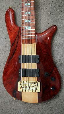 Spector USA NS5-XL Bass With Cocobolo Top